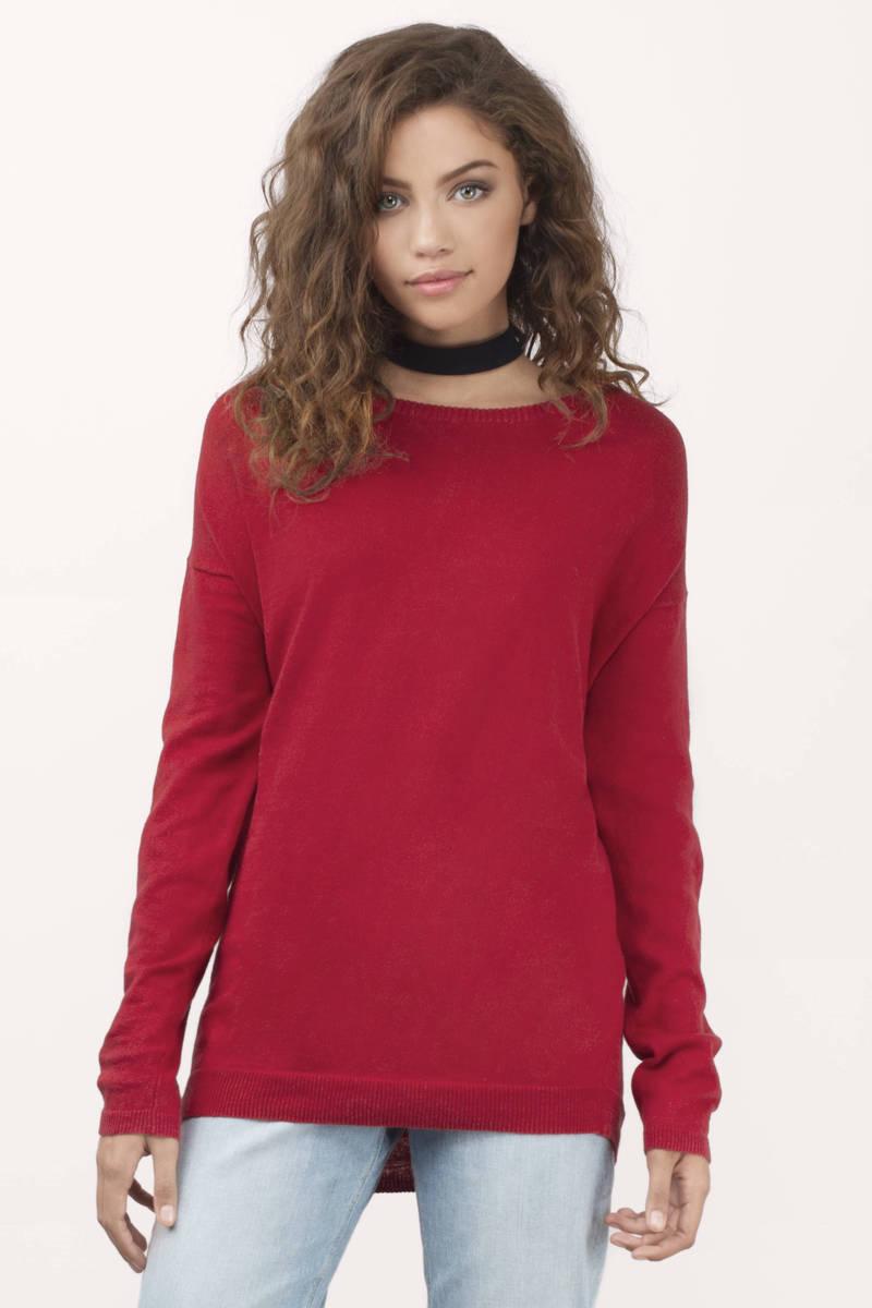 Red Sweater: Mark Of Elegancy