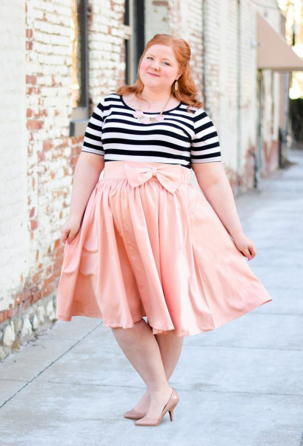 10 spring plus size skirts, perfect to twirl in! jliahoi