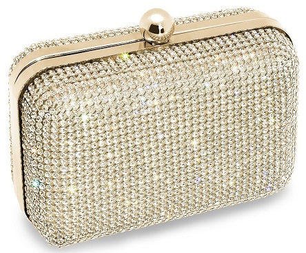 a gold clutch bag is carried by most of indian brides. it is vjzgpto
