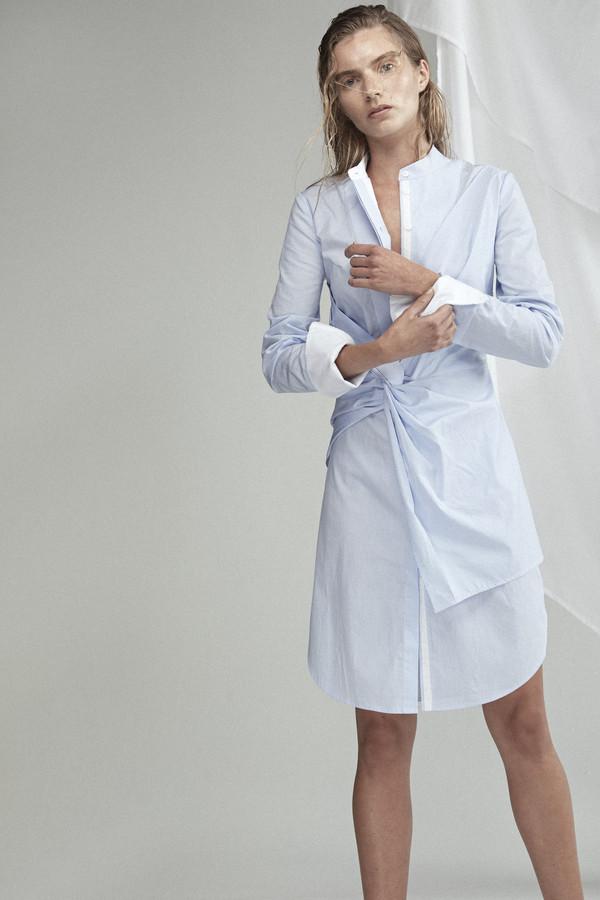 acler rowe stripe shirt dress tkrpear