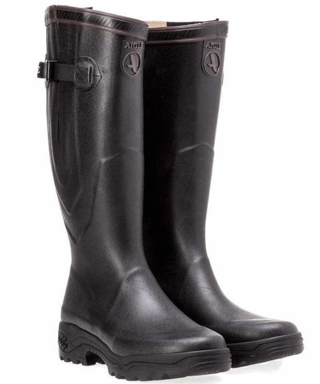 aigle parcours 2 vario wellington boots - black omcghkg