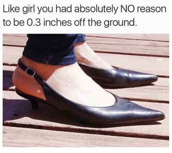 are kitten heels almost as bad as birkenstocks? oyjtsqh