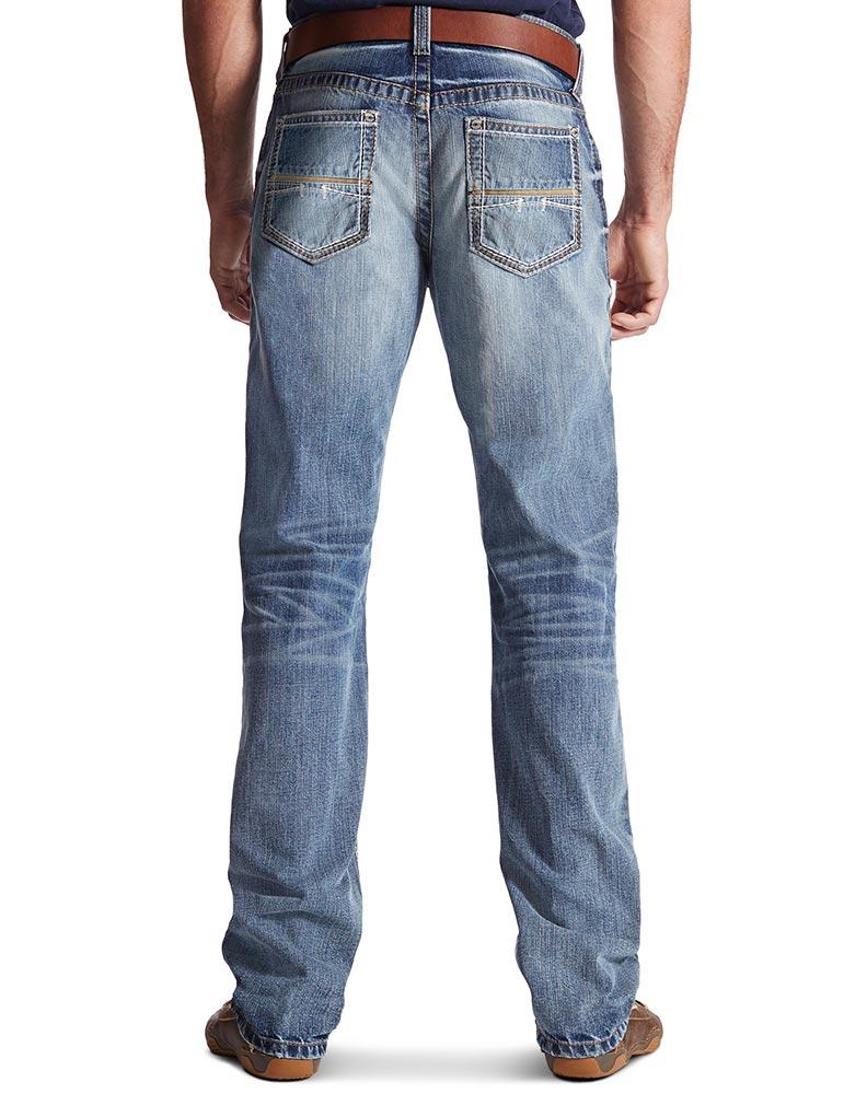 ariat jeans ariat menu0027s m4 low rise boot cut jeans - durango rqopxva