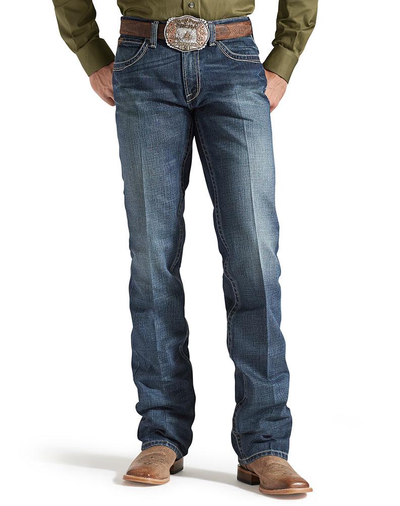 ariat jeans ariat menu0027s m5 slim straight leg jeans - gulch opbvreq
