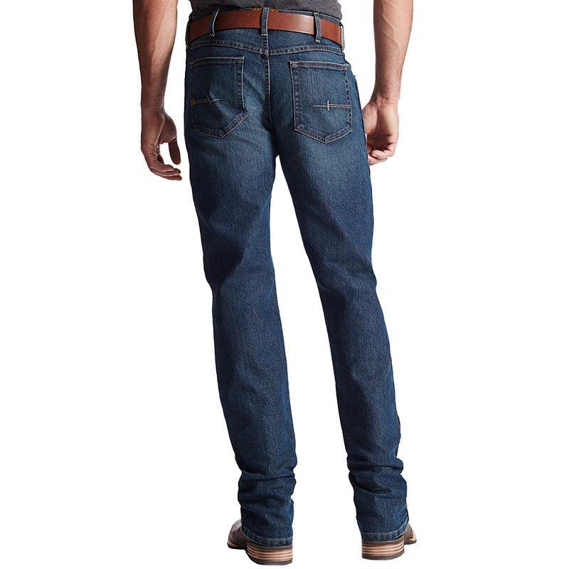 ariat jeans menu0027s ariat rebar m4 low rise boot cut jeans elzeaug