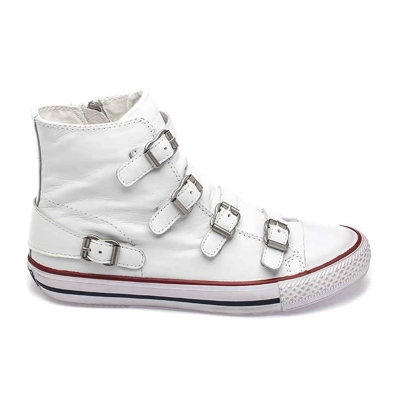 ash sneakers ash virgin womens sneaker white leather 340031 (100) nbosabw