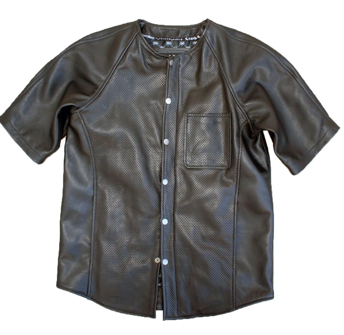 baseball leather shirt qtvcgjk