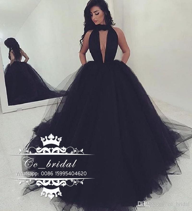 black prom dress sexy halter backless black prom dresses 2017 new long formal dress evening vzhpsaa