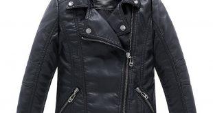 boys jackets amazon.com: ljyh childrenu0027s collar motorcycle leather coat boys faux  leather jacket: clothing wsforjq