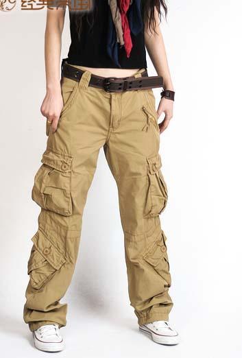 cargo pants for women best fashion womens cargo pants multi pocket casual cotton pants wide leg eepvsel
