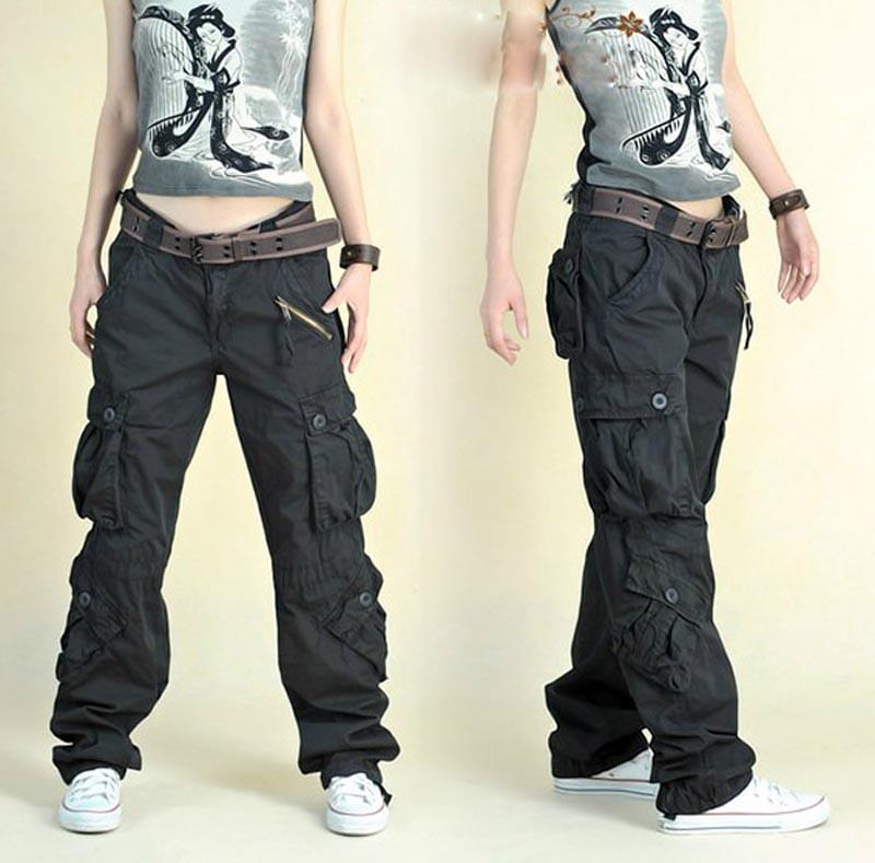 cargo pants for women fashion style autumn summer hip hop loose pants jeans baggy cargo pants for vgjxoig