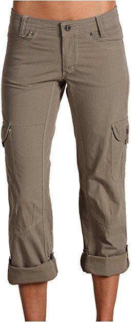 cargo pants for women kuhl - splash roll-up pant hyayavu