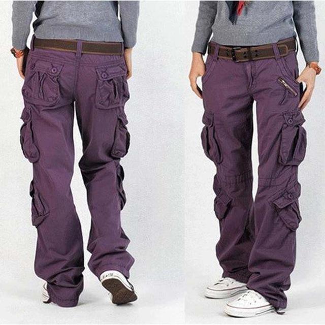 cargo pants for women woman cargo pants cotton trousers loose plus size ladies harem hip hop army ufxqaaj