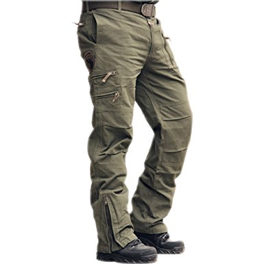 cargo pants sunsnow 2016 new brand causal cotton multi-pockets outdoor sport camouflage  army military xatdwds