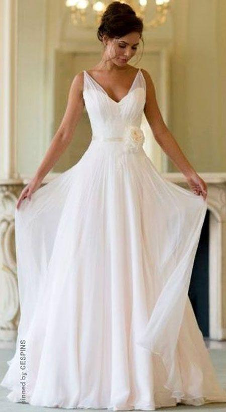 casual wedding dresses casual wedding dress like the straps npujopf