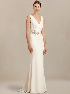 casual wedding dresses cowl back casual wedding dress bc909 cebqgdp