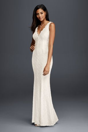 casual wedding dresses long sheath beach wedding dress - db studio kzovqxk