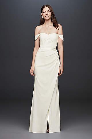 casual wedding dresses long sheath casual wedding dress - db studio estgrec