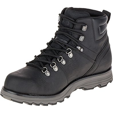 cat shoes cat footwear menu0027s caterpiller sire waterproof boot shoe (11) black wummrbf