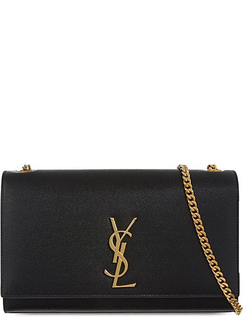 clutch bag saint laurent monogram medium leather shoulder bag zkeojid