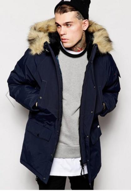 coat mens coat parka urban menswear hipster menswear mens parka cdukkpn