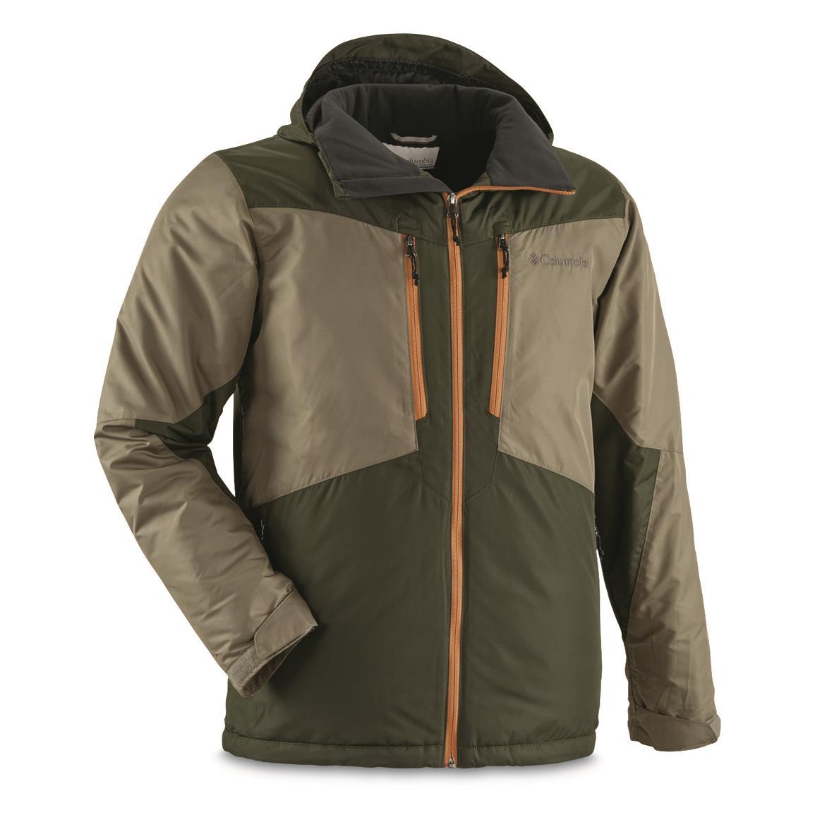 columbia menu0027s antimony insulated waterproof jacket, sage ahdetxb