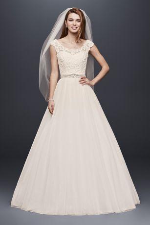 country wedding dresses long ballgown country wedding dress - davidu0027s bridal collection adyvenc