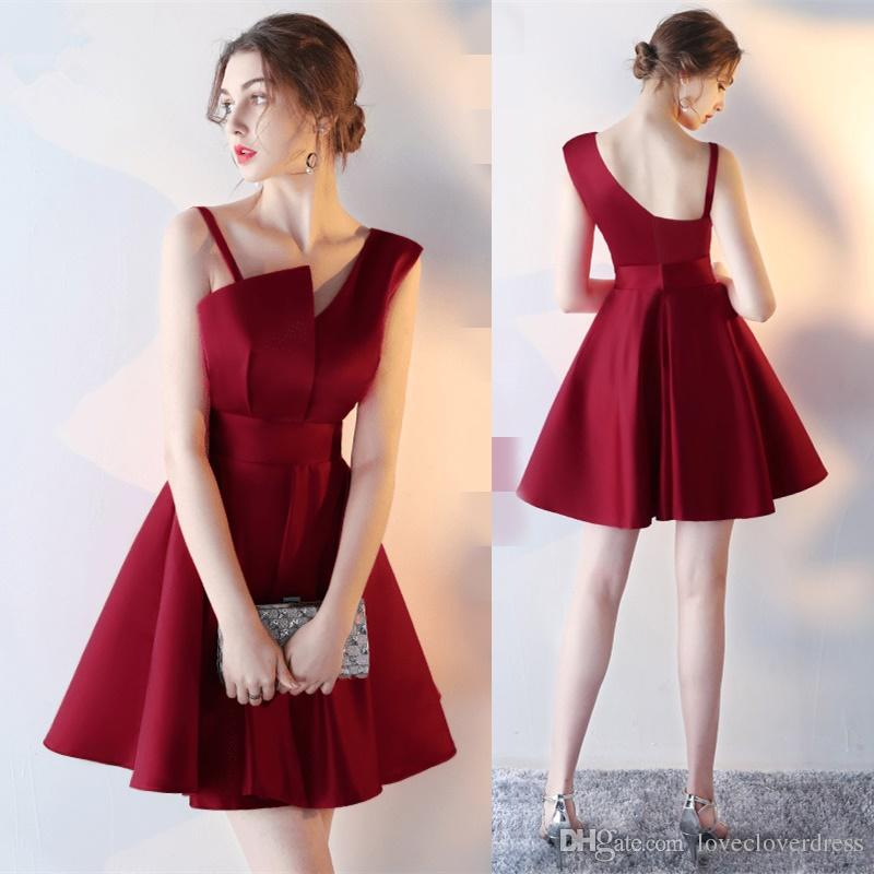dress for party 2017 new simple burgundy strapless cocktail dresses short formal party  dresses black rorfnmk