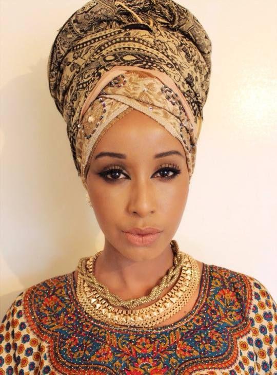 fabulous head wraps - african designers u0026 models - part 3- funky fashions zmptqii