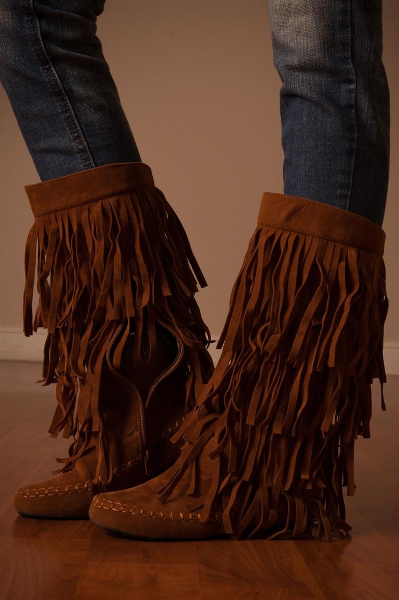 fringe moccasin boots, cute shoes, trendy shoes, boutique shoes, black  shoes, yjlzxdx