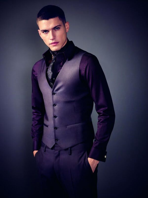 glam up your attire with purple suit xeayots