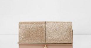 gold glitter bar front foldover clutch bag lpnwrub