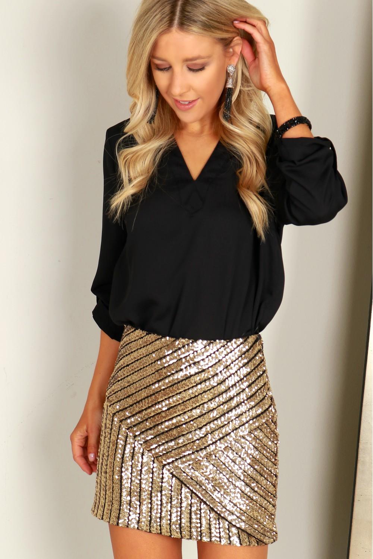 gold sequin skirt dqnmwpx