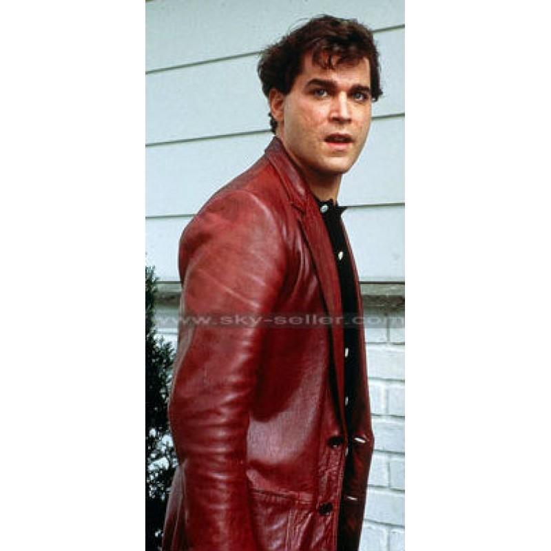 goodfellas ray liotta (henry hill) red leather jacket yjibqvn