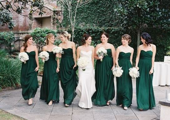 green bridesmaid dresses iu0027d love an even darker version of this coloru2026 but this is the swgmyiv