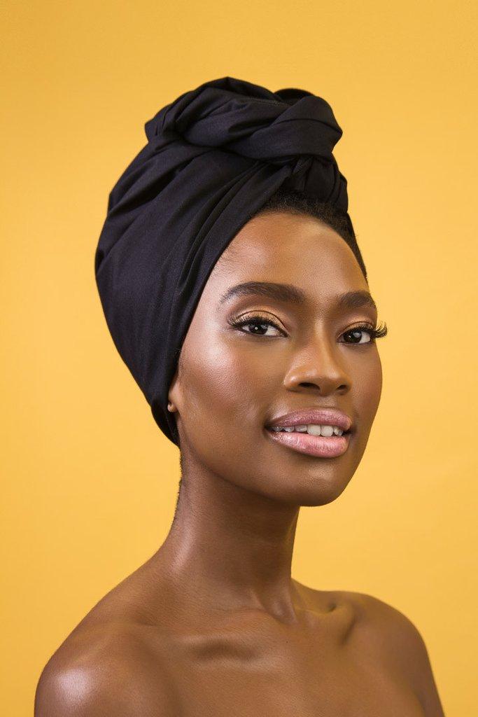 head wraps noire noire noire black head wrap ... axbwjer