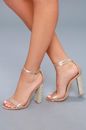 high heels for women viv champagne satin rhinestone ankle strap heels 5 kfbcwva
