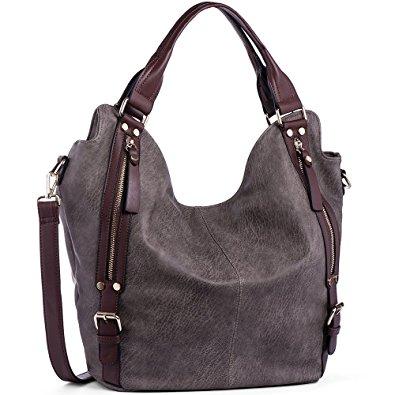 hobo bag joyson women handbags hobo shoulder bags tote pu leather handbags fashion  large wklhptv