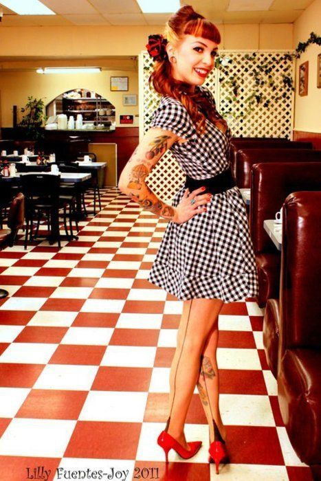 iu0027m just obsessed with the pin up/rockabilly style. wtbjugj