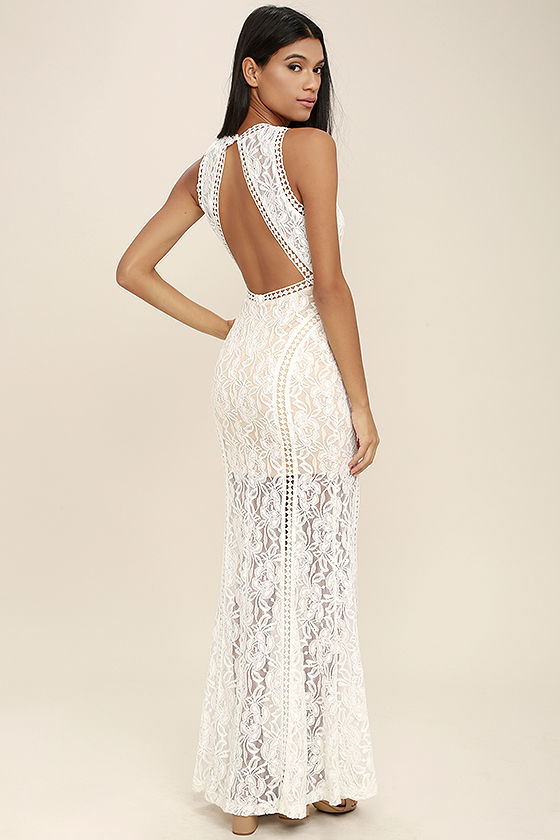 ivory dresses better with you ivory lace maxi dress 1 gbqoufz