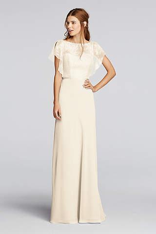 ivory dresses soft u0026 flowy wonder by jenny packham long bridesmaid dress xmobked