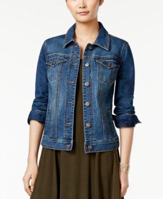 jean jacket denim jacket, created for macyu0027s ppaasjm