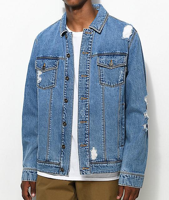 Jean jacket- comfortable jean jacket from wrangler
