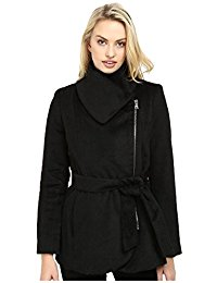 jessica simpson coats fancy jessica simpson jessica simpson womens brushed wool touch coat  w/asymmetrical zip ypqdfuj