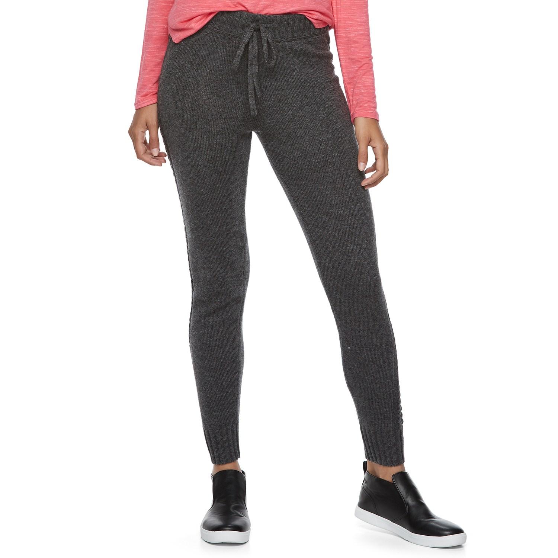 juniorsu0027 so® drawstring sweater leggings efwnwkx