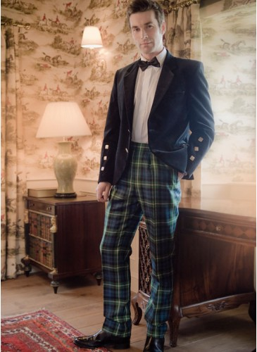 kinloch anderson tartan trousers -... - kinloch anderson mssrrzc