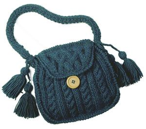 knitting bags louise knits: knit a cabled purse rvbiukr