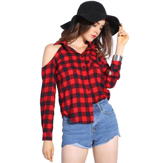 ladies tops dioufond cold shoulder women shirts 2017 spring style shirt long sleeve ladies cffrfbi