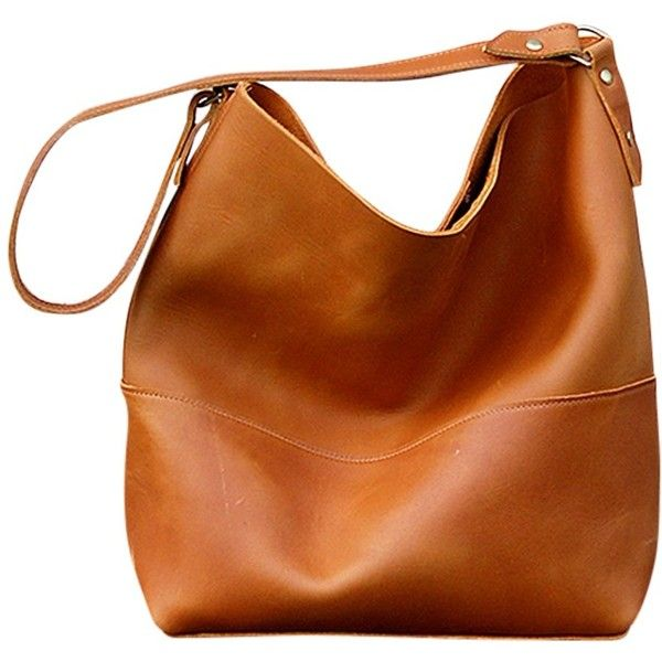 leather bags bubo handmade catalina leather hobo bag (u20ac160) ❤ liked on polyvore  featuring fdlcmjq