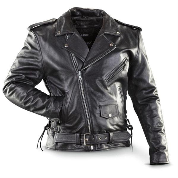 leather jacket naked cowhide (top quality) black leather biker jacket with side lacing u0026 lgumkul